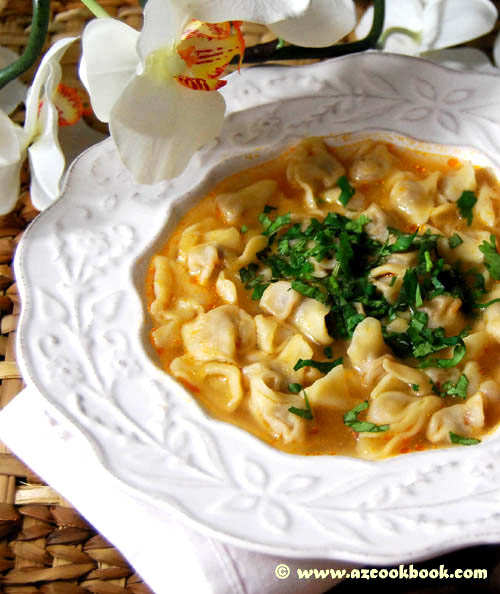 Dumpling Soup at Feride's Cooking Classes